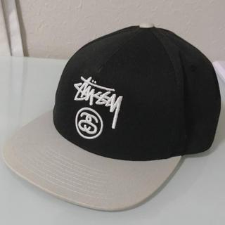 STUSSY - STUSSY キャップ 黒