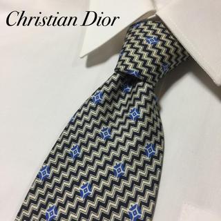 クリスチャンディオール(Christian Dior)のChristian Dior 高級シルク ヴィンテージ  総柄 ネクタイ(ネクタイ)