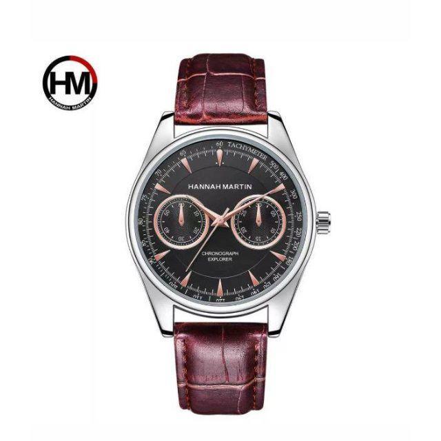 腕時計 hannahmartin 流行モデル ブラウンの通販
