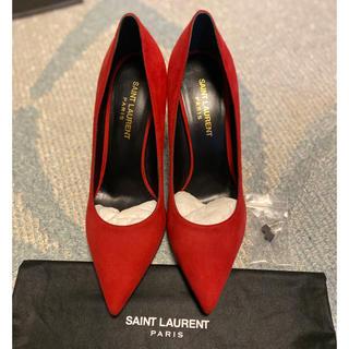 サンローラン(Saint Laurent)の【新品未使用】SAINT LAURENT サンローランのスエードパンプス(ハイヒール/パンプス)