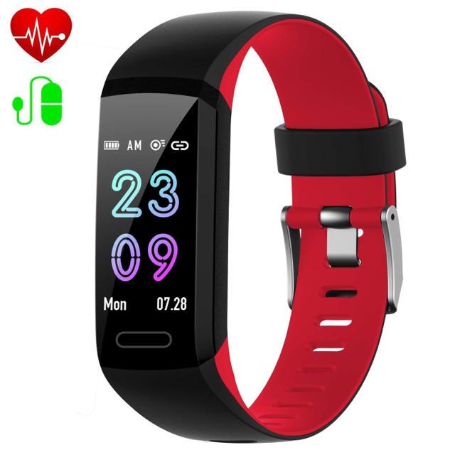 スマートウォッチ 心拍計 血圧計 睡眠管理 消費カロリー 歩数計の通販