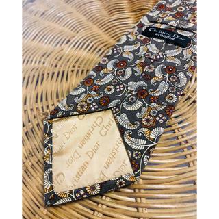 クリスチャンディオール(Christian Dior)のChristian Dior  クリスチャンディオール 総柄 ネクタイ シルク製(ネクタイ)