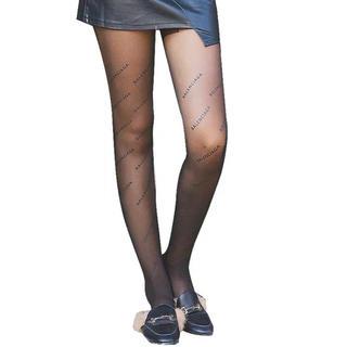 バレンシアガ(Balenciaga)のバレンシアガ タイツ ストッキング ロゴ(タイツ/ストッキング)