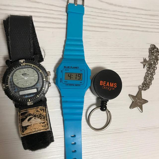 QUIKSILVER - 腕時計  クイックシルバーの通販