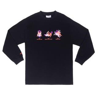 ジョンローレンスサリバン(JOHN LAWRENCE SULLIVAN)のCarne Bollente カルネボレンテ ロングスリーブ ロンt tシャツ(Tシャツ/カットソー(七分/長袖))