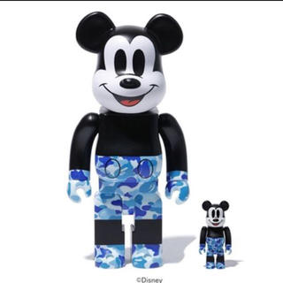 メディコムトイ(MEDICOM TOY)のBE@RBRICK BAPE MICKEY MOUSE 100% & 400%(その他)