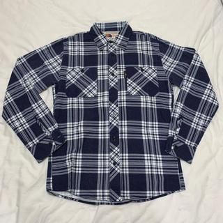 BLUE BLUE - BLUE BLUE チェックシャツ