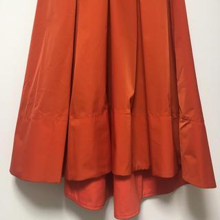 アクアガール(aquagirl)のアクアガール aquagirl スカート Sサイズ 34 小さいサイズ 赤(ひざ丈スカート)