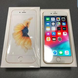 iPhone - SIMフリー iPhone6s 32GB ゴールド 未使用品