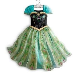 アナトユキノジョオウ(アナと雪の女王)の大人気!最安値 120 アナ雪 アナ ドレス コスプレ 衣装(ワンピース)