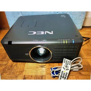 パナソニック(Panasonic)のNEC NP-PX700WJD 高輝度 7000ルーメン HDMI 動作確認済(プロジェクター)