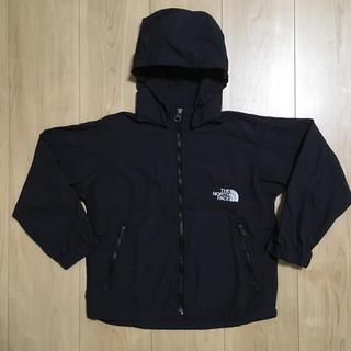 THE NORTH FACE - ノースフェイス キッズコンパクトジャケット ブラック 110