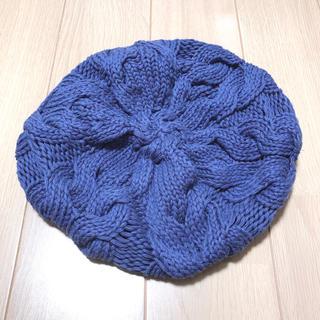 ウィゴー(WEGO)の【ウィゴー】ニットベレー帽(ニット帽/ビーニー)