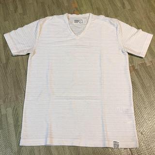アズールバイマウジー(AZUL by moussy)のメンズ 半袖 Tシャツ Mサイズ AZUL(Tシャツ/カットソー(半袖/袖なし))