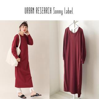 URBAN RESEARCH - UR Sonny Label バックオープンマキシワンピース