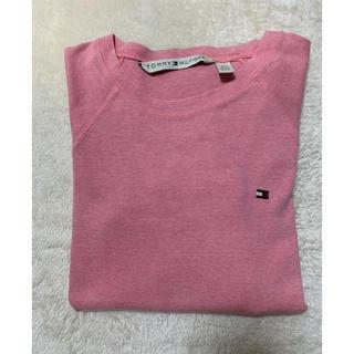 トミーヒルフィガー(TOMMY HILFIGER)のTOMMY⭐︎ピンク長袖(Tシャツ(長袖/七分))