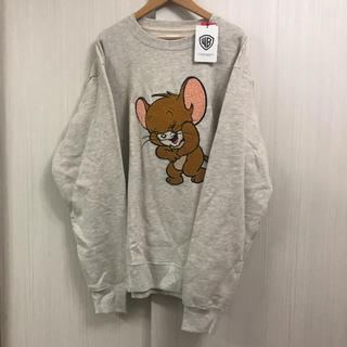 Design Tshirts Store graniph - 完売品 グラニフ×トムとジェリー ラフィングジェリースウェット