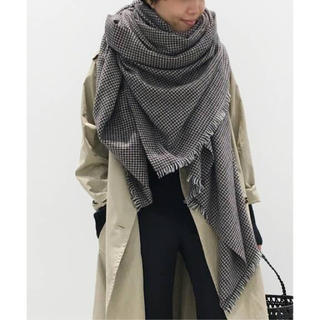 L'Appartement DEUXIEME CLASSE - 【ALONPI CASHMERE】SMALL CHECK STOLE