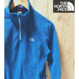 THE NORTH FACE - THE NORTH FACE  ハーフZIP  フリース トップスM