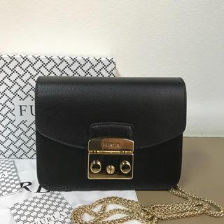 Furla - セール中◆新品未使用◆Furla メトロポリス ショルダーバッグ◆ブラック