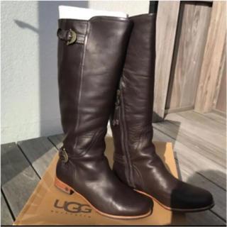 UGG - 新品UGG ロングブーツ ブラウン size6.5