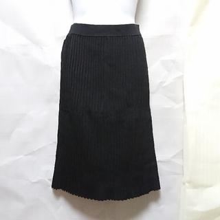 スライ(SLY)のスライ プリーツ ニット スカート(ひざ丈スカート)
