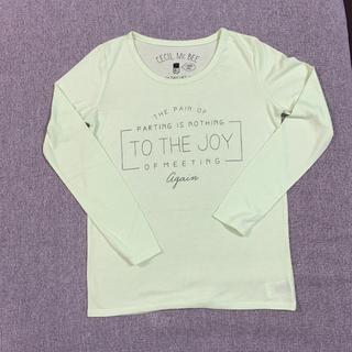 セシルマクビー(CECIL McBEE)のCECIL McBEE  長袖Tシャツ(Tシャツ(長袖/七分))
