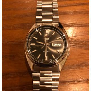 セイコー(SEIKO)の美品 SEIKO セイコー5 セイコーファイブ(腕時計(アナログ))