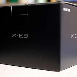 フジフイルム(富士フイルム)のFUJIFILM X-E3 ボディ ブラック 新品 未使用 保証有(ミラーレス一眼)