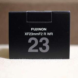 フジフイルム(富士フイルム)のFUJIFILM XF23mm F2 新品 未使用品 保証有(レンズ(単焦点))