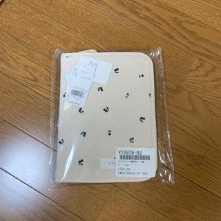gelato pique - ジェラートピケ母子手帳/キルティングチェリー柄のベージュ!