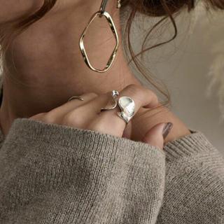 ムルーア(MURUA)の大人気オープンリングs925(リング(指輪))