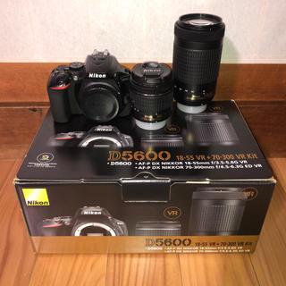Nikon - 【大幅値下げ】D5600 ダブルズームキット 動作未確認