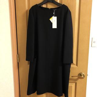 23区 - 23区 ワンピース 黒 ブラック 新品