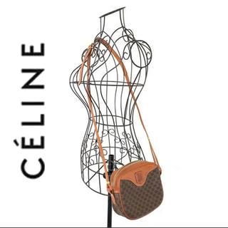 celine - celine セリーヌ マカダム柄 ショルダーバッグ ヴィンテージ  レトロ
