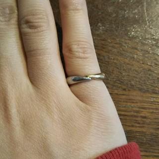 バーバリー(BURBERRY)のバーバリーピンキーリング(リング(指輪))