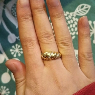 MIKIMOTO - ミキモトK18ダイヤモンドリング