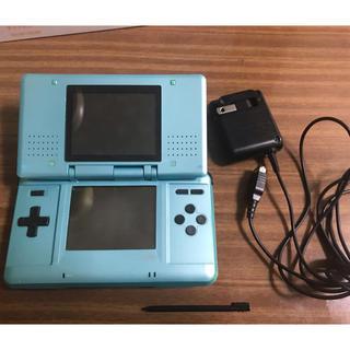 ニンテンドーDS - DS本体 ターコイズブルー 充電器付き