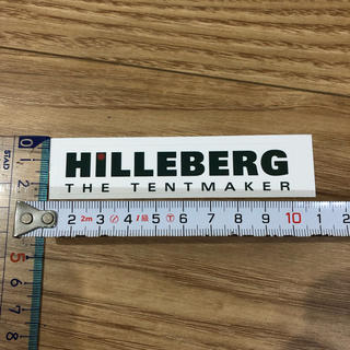 HILLEBERG - HILLEBERG ステッカー