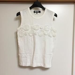 コムデギャルソン(COMME des GARCONS)のブラック コムデギャルソン(Tシャツ(半袖/袖なし))