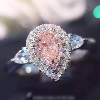 ドロップダイヤリング(リング(指輪))