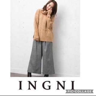 INGNI - 《SALE》 《新品》INGNI ケーブルタートルニット