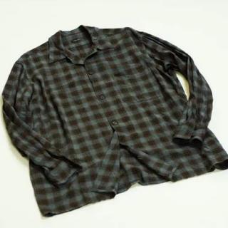 COMOLI - comoli コモリ 19ss レーヨンオープンカラーシャツ