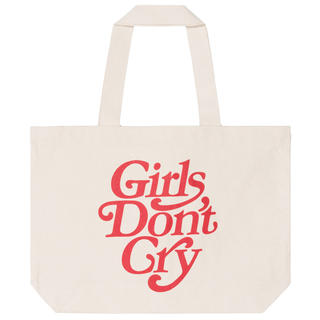 Girls Don't Cry トートバッグ 赤