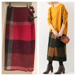 IENA SLOBE - 新品☆FILL THE BILL☆BLANKET WRAP スカート