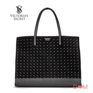 Victoria's Secret - Victoria's Secret ベルベットスタッズトートバッグ