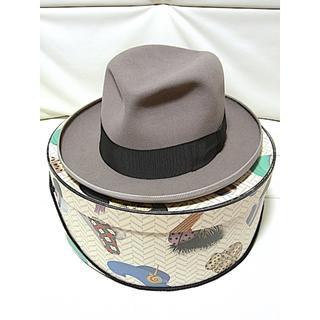 Borsalino - Borsalino 【Vintage】 ホンブルグ ハット ★TRIONFO 6