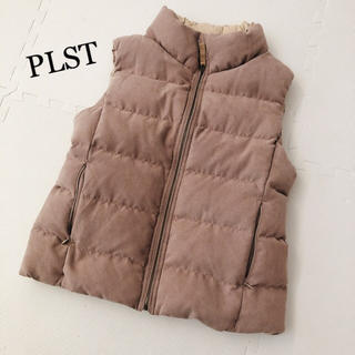 プラステ(PLST)のPLST♡リバーシブルスウェードダウンベスト(ダウンベスト)