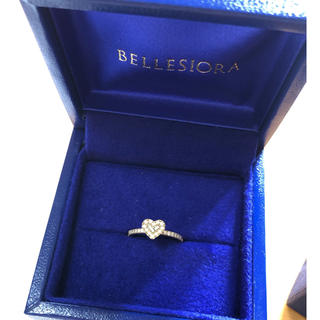 アガット(agete)の貴重♡ ベルシオラ ダイヤモンドハートリング(リング(指輪))