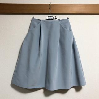 FOXEY - 美品 フォクシー FOXEY NEWYORK スカート イリプスフレア 38 S